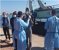 عزل 15 صيادًا عائدين من ليبيا في فندق بدمنهور