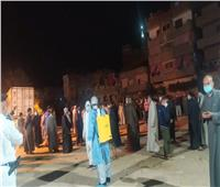 عزل شارعين ببني مزار بعد ظهور حالات إيجابية مصابة بكورونا