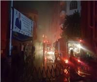 شاهد يروي تفاصيل حريق مخزن الزيوت بشارع البحر الأعظم