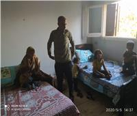 القباج توجه بتوفير مسكن ملائم لأسرة تقيم في الشارع بعد طردها من منزلها