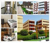 صور| استراحات للفرق الطبية وغرف مجهزة لخدمة النزلاء.. «المدن الجامعية» ملحمة وطنية في مواجهة وباء كورونا