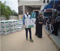 مركز الملك سلمان للإغاثة يقدم مساعدات غذائية للفلسطينيين في الضفة وقطاع غزة