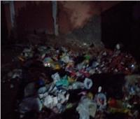 بالصور| طوخ.. القمامة منتشرة أمام مجلس المدينة ومدرسة الشهيد خالد المغربي