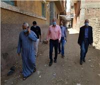 وكيل وزارة الصحة بالقليوبية يتابع حالات العزل المنزلي بقرية بهادة