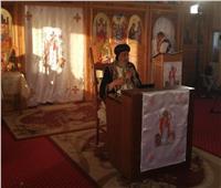 البابا تواضروس يصلي عشية عيد مارمرقس