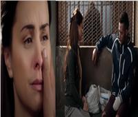 شاهد| نور تنهار من البكاء خلال زيارتها لـ محمد رمضان في السجن