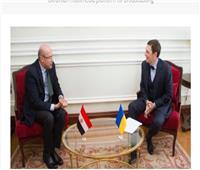 دعم التعاون المصري الاوكراني في المجال القنصلي
