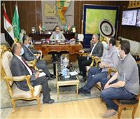 محافظ المنوفية يستقبل وفد الهيئة العربية للتصنيع لبحث تطوير منظومة المخلفات