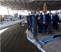 رئيس الوزراء يتفقد أعمال تطوير منطقة الشاليهات بجزيرة الشعير بالقناطر الخيرية