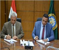 توقيع بروتوكول إعادة تأهيل محطات وخطوط الصرف الصحي بجمصة