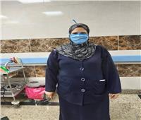 نماذج مشرفة| لقبوها «الأم الحنون» ممرضة بمستشفى الحجر بقها بالقليوبية