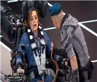 فيديو| رامز جلال يهدد ريهام عبد الغفور بالثعبان.. والضحية: «وحياة ولادك سبني»