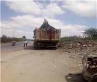 المنوفية : حملاتيوميةلرفع تجمعاتالقمامة وإستمرارأعمال التطهير والتعقيم