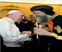 البابا تواضروس يتلقى اتصالا هاتفيا من البابا فرنسيس بمناسبة عيد المحبة الأخوية