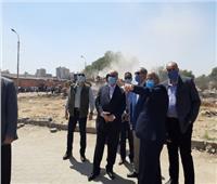 محافظ القاهرة يتفقد أعمال الإزالة الجارية بالمنطقة المجاورة لنادي الشمس