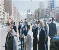 محافظ القاهرة يشهد حملاتالإزالة بألف مسكن