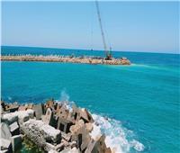 إنجاز 40% من أعمال الحماية البحرية حول قلعة قايتباي