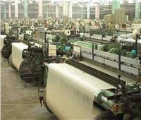 استمرار أعمال البنية التحتية لمصانع الغزل والنسيج