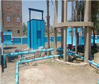 """مياه المنوفية : إستلام إبتدائي لمشروعات """"ISSIP2"""" بثلاث قري بنواحي مركز الشهداء"""
