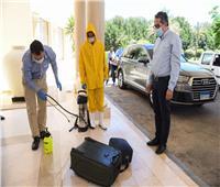 وزير السياحة يتفقد العيادات الطبية بفنادق البحر الأحمر والتأكد من تطبيق ضوابط السلامة