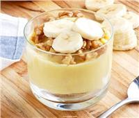 حلويات رمضان| طريقة عمل «كاسات تشيز كيك الموز».. بطعم شهي ولذيذ