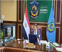 عبيد صالح: محاربة الشائعات من المشروعات القومية للجامعة