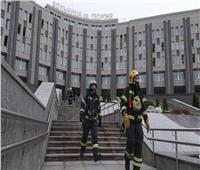 مصرع 5 أشخاص جراء حريق بمستشفى في روسيا