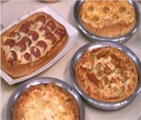 «البيتزا» بكل أسرار نجاحها من الشيف محمد حامد  فيديو