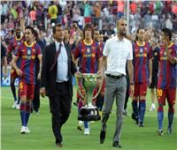 لابورتا يبدأ رحلة العودة لرئاسة برشلونة بورقة جوارديولا