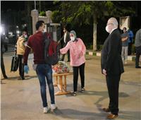 وصول الفوج الـ10 من المصريين العائدين من الكويت لمدينة طلاب جامعة القاهرة
