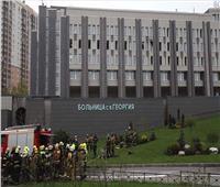 مصرع 5 مرضى بالكورونا في حريق بإحدى المستشفيات