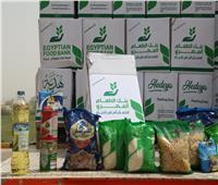 الأورمان: جاري الانتهاء من توزيع 10 ألاف كرتونة مواد غذائية فى قرى الغربية