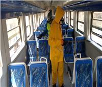 نرصد استمرار أعمال تعقيم قطارات السكة الحديد والمترولمواجهة كورونا