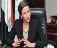 """وزيرة البيئة تتفقد سير العمل ب""""المحطة الوسيطة """" بشبرا الخيمة والمدفن الصحي بالعبور"""