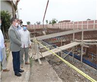 محافظ المنوفية يتفقد توسعات محطة معالجة صرف صحي الغوري ببركة السبع