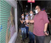 محافظ أسيوط يتفقد أعمال التعقيم بشوارع حي غرب للوقاية من كورونا