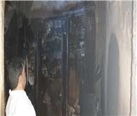 مصرع عجوز في حريق مسكنه بالشرقية
