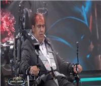 فيديو| أبو المعاطي زكي تحت تهديد الثعبان: «رامز جلال أحسن ممثل في مصر»