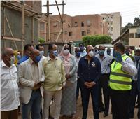 محافظ أسوان يشدد على الإسراع في الانتهاء من تنفيذ مستشفى إدفو العام خلال العام الحالي