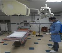 تعقيم مستشفى دار الشفا بطنطا بعد ظهور أول حالة إصابة بكورونا