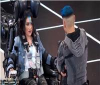فيديو| بوسي تبكي أمام ثعبان رامز جلال: «روح اتعالج»