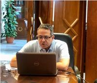 وزير السياحة يعقد اجتماعا عبر الفيديو كونفرانس مع 20 سفيرا