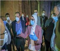 وزيرة الصحة: تشغيل 20 سرير عزل لمرضى كورونا خلال أيام