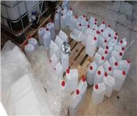 ضبط شخصين بالقاهرة لقيامهما بتخزين كميات من المستلزمات الطبية والمواد المطهرة