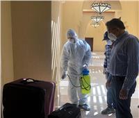 صور| وزير السياحة والآثار يتفقد الإجراءات الوقائية بفنادق شرم الشيخ