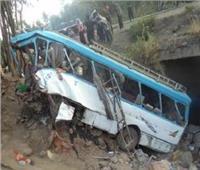 إصابة 27 عاملا في حادث تصادم على طريق الأدبية في السويس