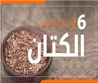 إنفوجراف| 6 فوائد لبذور «الكتان»