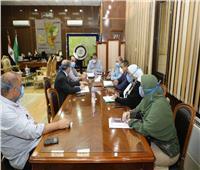 محافـظ المنوفية: متابعات يومية وإجراءات مشددة لمجابهة «كورونا»