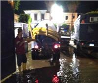 غرفة عمليات على مدار الساعة لإزالة أثار المطر من سوهاج