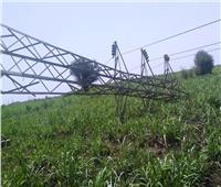 محافظ أسوان: إعادة الكهرباء لبعض المناطق بعد سقوط أبراج الضغط العـالي